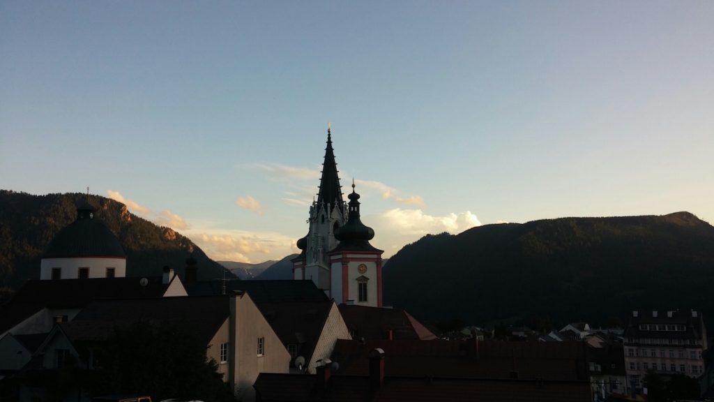 Mariazell w Austrii