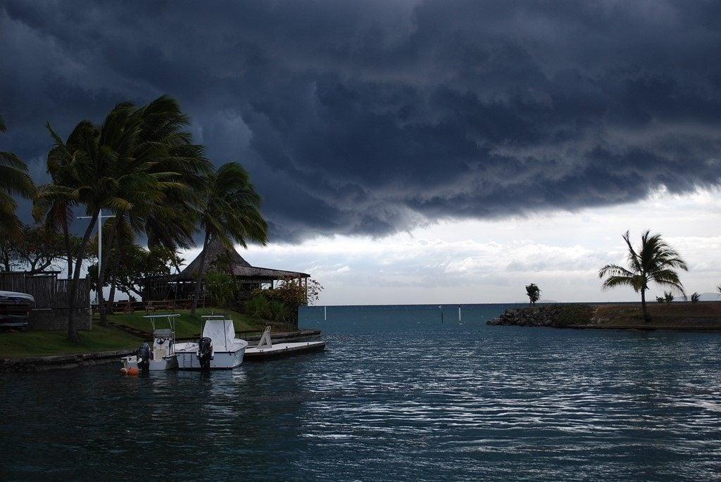 Cisza przed burzą na Pacyfiku