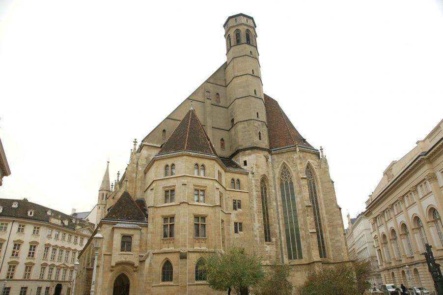 Die MinoritenkircheDie Minoritenkirche