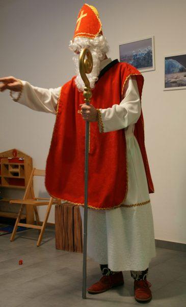Der Nikolaus zu Besuch beim Verein BabelDer Nikolaus zu Besuch beim Verein Babel