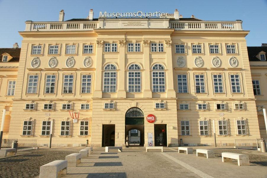 Das MuseumsquartierDas Museumsquartier